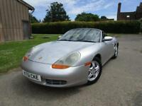 Porsche Boxster 2.7 auto 2002MY Tiptronic S**ONLY 2 LADY OWNERS**