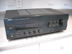 Yamaha RX-396 Natural Sound Stereo Receiver with phono preamp