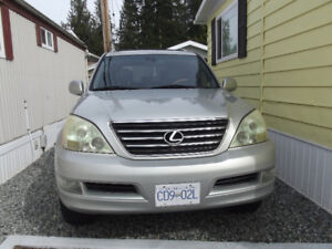2005 LEXUS Gx 470 SUV SPORTS AND NAVIGATION PACKAGE 13,900