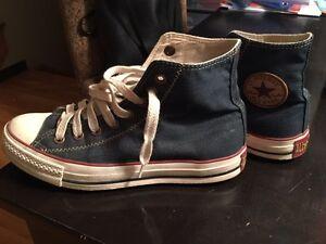 Souliers Converse shoes denim