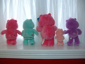 Care Bears Lot of 5. Two talking bears, One Carlton Bear tagged. St. John's Newfoundland image 2