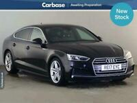 2017 Audi A5 2.0 TDI Ultra S Line 5dr S Tronic HATCHBACK Diesel Automatic