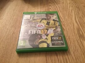 Xbox one Fifa 17 mint condition good as brand new