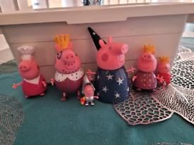 Peppa Pig King & Queen Set