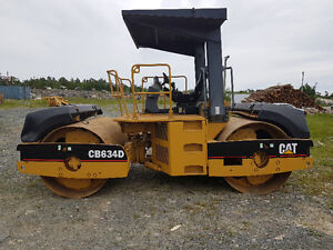 Cat CB 634D double drum 84 inch roller