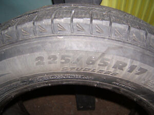 WANTED one michelin x ice 225 65 17