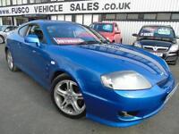 2006 Hyundai Coupe 2.7 V6 - Blue - AUTOMATIC + 12 months MOT!