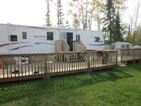 Kashabowie Lake Thunder Bay Trailer Park Camp Ground