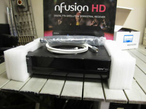 nFusion HD FTA Satellite receiver STB, New unused HDMI