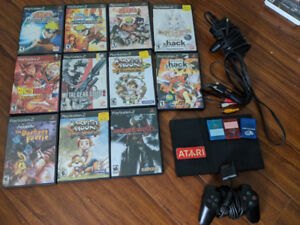 Selling a playstation 2 and games. (edited for sold games)