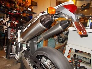 Husqvarna dual exhaust by Arrow