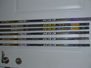 CCM Super Tacks and Ultra Tacks Sticks