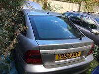 2001 Vauxhall Vectra 1.8 i 16v Club 5dr