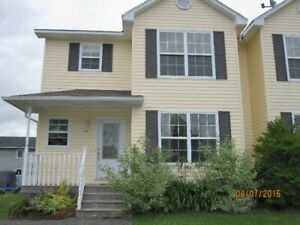 4 bdrm semi detached house in Moncton North for rent from May 1