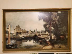 John constable painting print