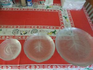 Glass Dish Set for 4 complete