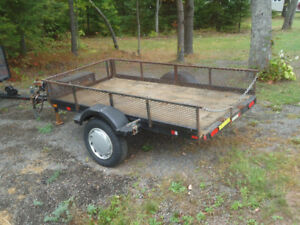 UTILITY TRAILER 66IN WIDE BY8FT LONG