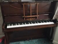 Upright Holder Brothers Overstrung Piano for sale