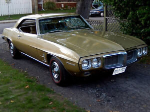 1969 PONTIAC FIREBIRD SURVIVOR  350 # MATCHING
