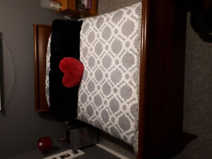 Youth double sleigh bed