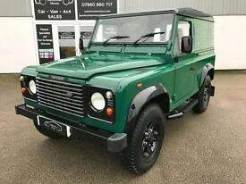 2003 53 LAND ROVER DEFENDER 90 2.5 TD5 4X4 4WD HARD TOP COUNTY LOW MILES NO VAT