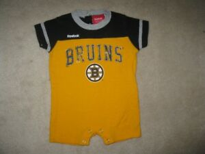 Boston Bruins Reebok Summer Romper