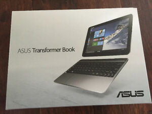 Transformer book tablet with keyboard