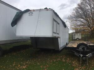 35' 5th Wheel Cargo Trailer - Very Heavy Duty - Needs Roof