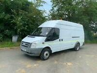 2007 Ford TRANSIT 140 T430EF RWD Twin wheel jumbo van NA Diesel Manual