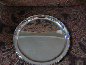 Robbe & Berking Silverplated Tray