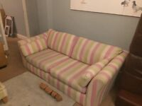 Next 3 seater+cuddle chair+footstool