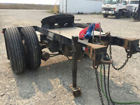 2007 Castelton Single-Axle Air-Ride Converter Dolly