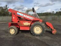 Manitou farm loader