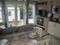 For sale new static caravan holiday home sited, South Devon.