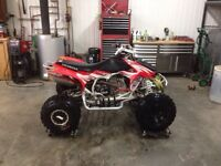 TRX450R 2006 BEAUCOUP DE STOCK