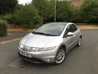 HONDA CIVIC ES DIESEL - 6 SPEED MANUAL - LOW MILES - SERVICE HISTORY -FREE DELIVERY -P/X WELCOME