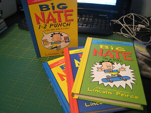 Big Nate books series 1-3 (by Lincoln Peirce)