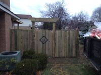 Quality Fencing From Partridge Landscaping