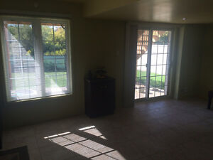 Spacious 1 Bedroom Walk Out Basement For Rent In Bramton East
