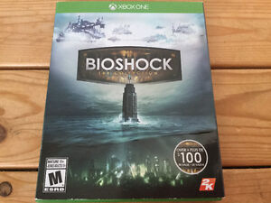 * JEUX XBOX ONE: BIOSHOCK THE COLLECTION -25$