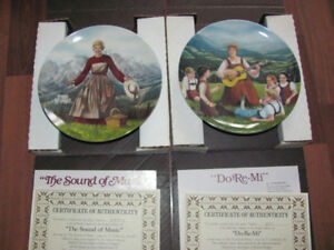 Complete 1980's~ SOUND OF MUSIC ~ Julie Andrews Collector Plates
