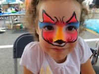 Maquillage pour  fête  enfants