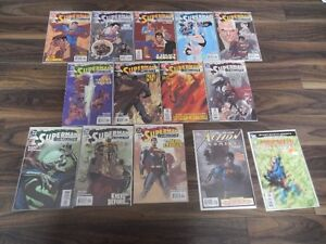 (x53) Superman Comics, All but 6 have protective covers