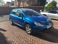 55 reg Peugeot 307 1.6 hdi **111k miles with Full service history**One lady owner since new**