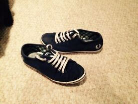 Fred Perry woman shoes - Blue - Size 4