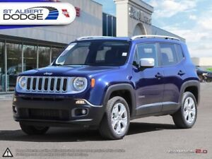 2017 Jeep Renegade Limited  SUNROOF | HEATED LEATHER | BACKUP CA