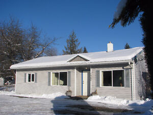 Cozy home on large lot in Enderby