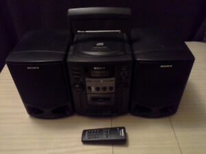 Sony CFD-Z130 boombox