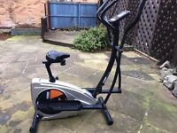 York cross trainer & excercise bike in one good condition