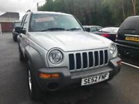 2002 (52) Jeep Cherokee 2.4 Sport ** Only 56,000 Miles **